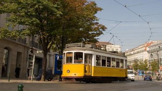 En transport public