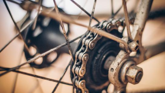 chaine de vélo