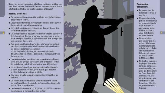 Image de la brochure stop aux cambrioleurs