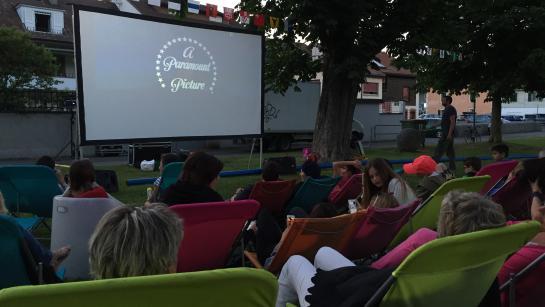 cinéma en plein air été